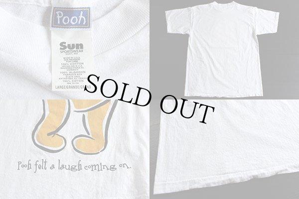 画像3: 90s USA製 Pooh クマのプーさん Tシャツ 白 L