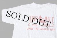80sデッドストック USA製 TROY BILT Tシャツ 白M