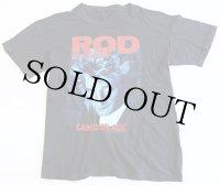 80s ROD STEWART ロッドスチュワート 84ツアーTシャツ 黒 L