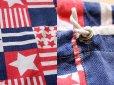 画像3: 70s 星条旗柄 コットンバッグ (3)