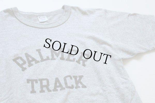 画像1: 80s USA製 Championチャンピオン PALMER TRACK 88/12 Tシャツ 杢グレー M