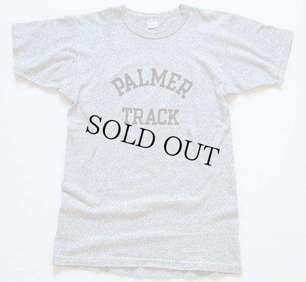 画像2: 80s USA製 Championチャンピオン PALMER TRACK 88/12 Tシャツ 杢グレー M
