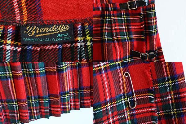 アイルランド製 Brendella タータンチェック キルトスカート Sixpacjoe Web Shop