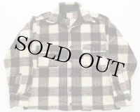 50s SPORTCLAD J.C.PENNEY ウールシャツ