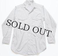 60s Leeリー マチ付き ワークシャツ 14.5