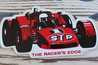 デッドストック ビンテージ STP THE RACER'S EDGE ステッカー