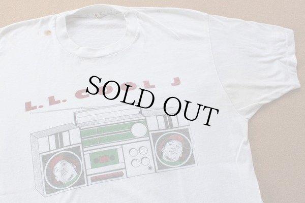 画像1: 80s USA製 LL COOL J Tシャツ★オールドスクール HIPHOP