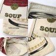 画像3: ビンテージ Campbell's SOUP キャンベル スープ 染み込みプリント 布袋★アンディウォーホル (3)