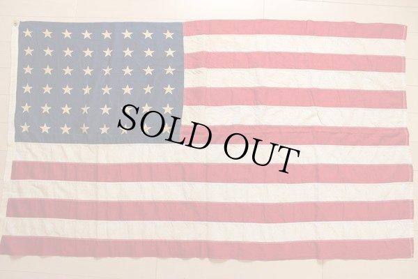 画像2: ビンテージ アメリカ国旗 星条旗 48スター USA フラッグ
