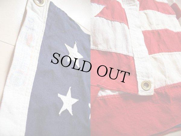 画像3: ビンテージ アメリカ国旗 星条旗 48スター USA フラッグ