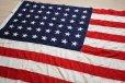画像1: ビンテージ アメリカ国旗 星条旗 48スター USA フラッグ (1)