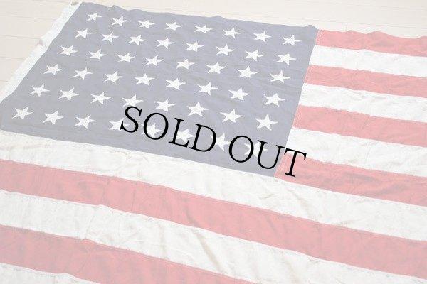 画像1: ビンテージ アメリカ国旗 星条旗 48スター USA フラッグ