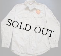 50s LION ワッペン付き 長袖ワークシャツ 15