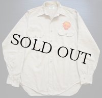 50s LION-BILT ワッペン付き 長袖ワークシャツ 15
