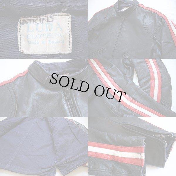 画像3: 60s 英国製 LUDA CLOTHING シングルライダース レザージャケット