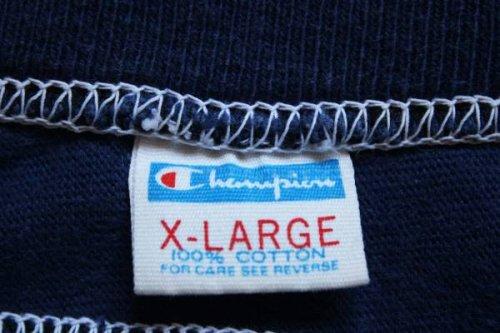 他の写真1: 70s USA製 Championチャンピオン 75 ナンバリング フットボールTシャツ 紺 XL