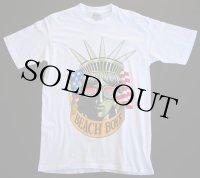 90s USA製 BEACH BOYSビーチボーイズ コットン バンドTシャツ 白 L