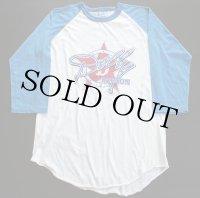 80s USA製 DOLLY PARTONドリーパートン ツアー ラグラン 七分袖Tシャツ L