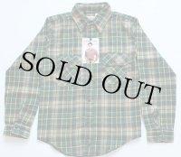 リサイズ★70sデッドストック USA製 FIVE BROTHERファイブブラザー フランネルシャツ