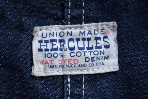 他の写真3: 60s HERCULESヘラクレス VAT DYEDデニム カバーオール