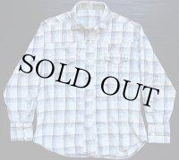 60's UNKNOWN イチゴボタン ウエスタンネルシャツ