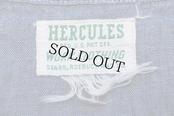 画像4: 40s HERCULESヘラクレス シャンブレーシャツ