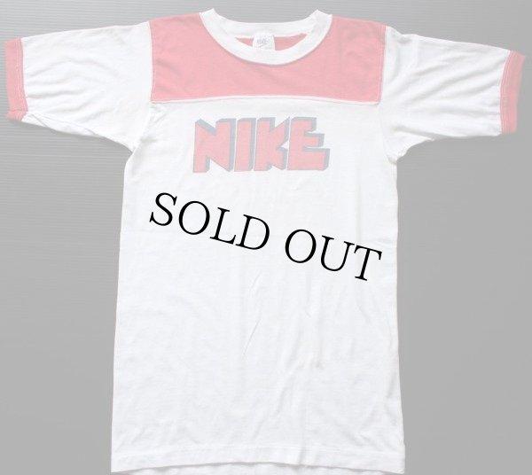画像2: 70s USA製 NIKE ゴツナイキ 染み込みプリント Tシャツ