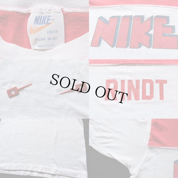 画像4: 70s USA製 NIKE ゴツナイキ 染み込みプリント Tシャツ
