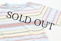 70's Sears マルチボーダーTシャツ ボーイズ14