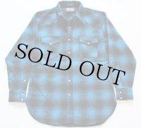 USA製 PENDLETONペンドルトン オンブレ ウエスタンウールシャツ