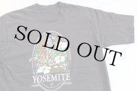 90s YOSEMITE ヨセミテ国立公園 コットンTシャツ 黒
