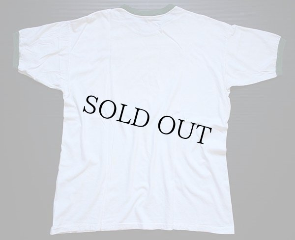 画像3: 70s mayo SPRUCE BSA ボーイスカウト インディアンヘッド 染み込みプリント リンガーTシャツ