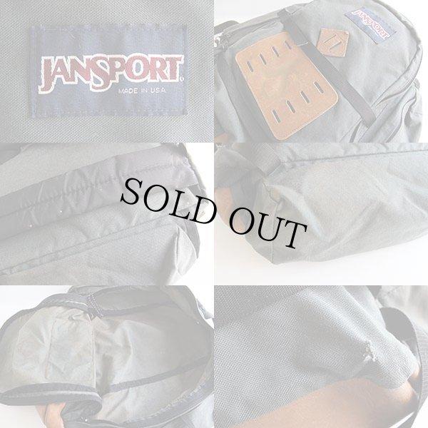 画像3: USA製JANSPORTジャンスポーツ底革バックパック ウィークエンド