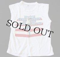 80sブルーススプリングスティーン ノースリーブ ツアーTシャツ