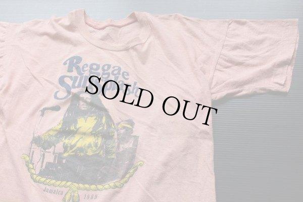 画像1: 80s ReggaeSunsplash Jamaica1989 Tシャツ★レゲエ