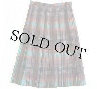 60s Highland Queen ウール プリーツスカート 16