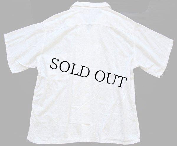 画像2: 50s USA製 Cone PROXIMITY Plisse 半袖 シアサッカーシャツ 白