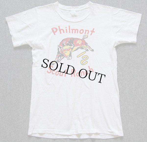 画像2: 60s BSAボーイスカウト Philmont 染み込みプリント Tシャツ 白