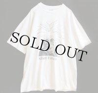90s USA製 Hanes Albert Einsteinアインシュタイン コットンTシャツ 白 XL