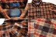 画像3: 70s USA製 SIR PENDLETONサーペンドルトン タータンチェック ボタンダウン ウールシャツ L (3)