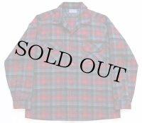 50s PENDLETONペンドルトン チェック ウールシャツ L