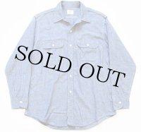 70s JCPenney BIGMACビッグマック コットン シャンブレーシャツ
