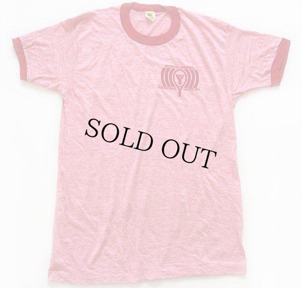 画像2: デッドストック★70s Velva Sheen RACQUETBALL LEAGUE 1979 リンガーTシャツ 杢レッド L