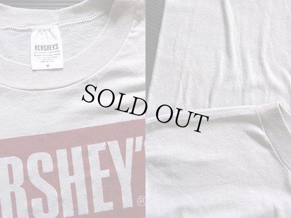 画像3: 80s USA製 HERSHEY'Sハーシーズ ロゴ Tシャツ グレー M