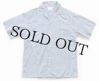 60s Penneys BIGMACビッグマック 半袖 コットン シャンブレーシャツ S