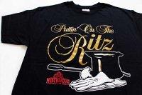 デッドストック★90s Hanes Puttin On The Ritz Tシャツ 黒 XL