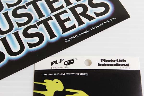 画像3: 80sデッドストック GHOSTBUSTERゴーストバスターズ SLIMEDスライム ステッカー 2枚セット
