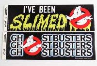 デッドストック★80s GHOSTBUSTERゴーストバスターズ SLIMEDスライム ステッカー 2枚セット