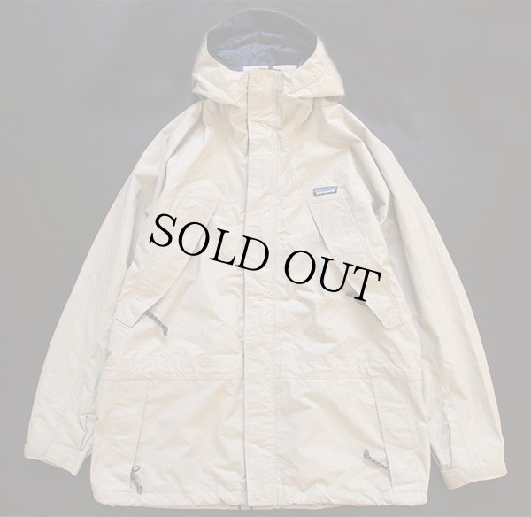 画像1: 00s patagoniaパタゴニア ストームジャケット ビンテージカーキ L