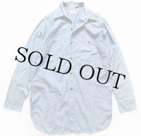 50s BIG MIKEビッグマイク マチ付き コットン シャンブレーシャツ